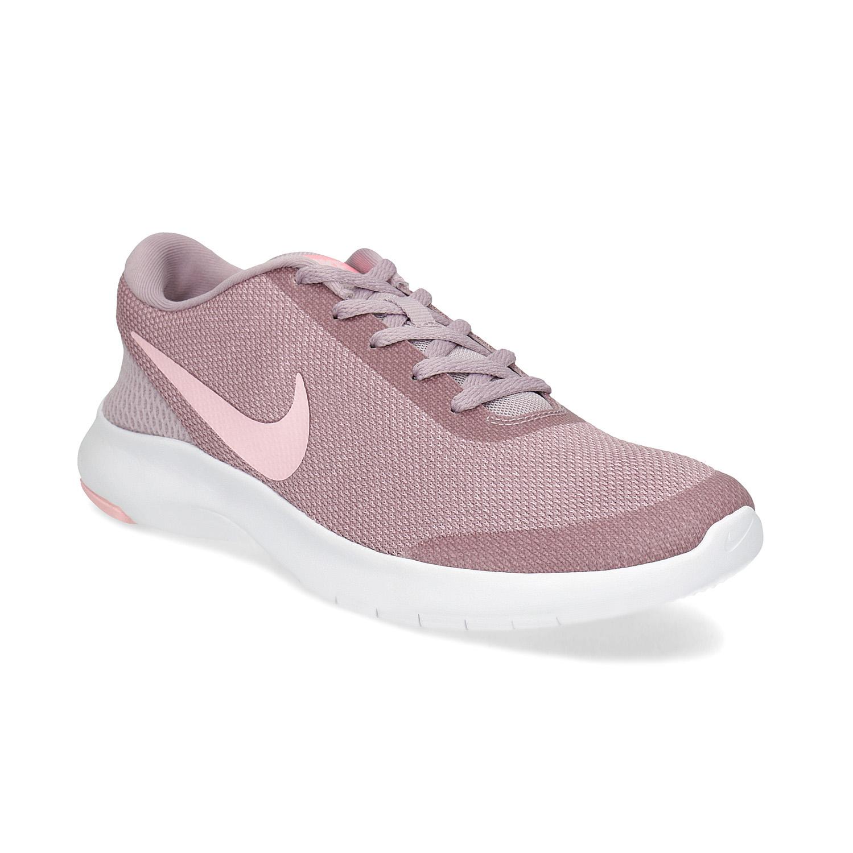 Růžové dámské tenisky ve sportovním stylu