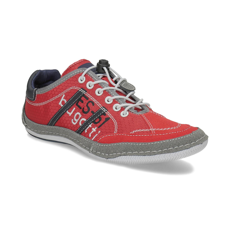 Ležérní pánské tenisky červené