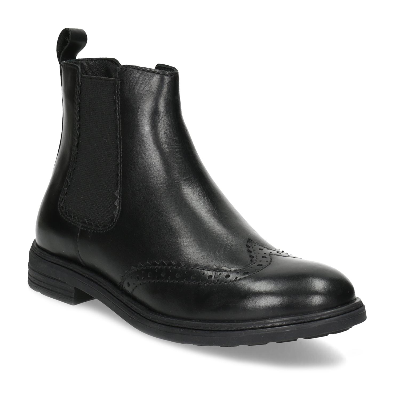Dětská kožená Chelsea obuv